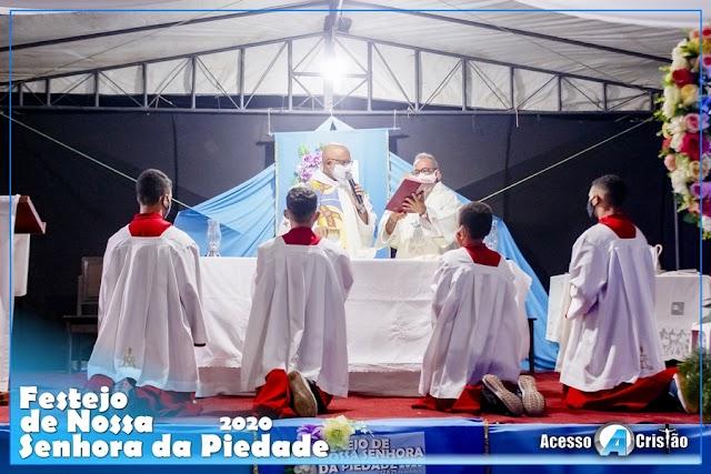 Devoção de um povo | Quarta noite do Festejo de Nossa Senhora da Piedade 2020 - Coroatá, MA