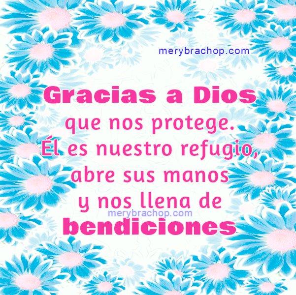 Bonitas frases de mensajes cristianos con bendiciones y dando gracias a Dios, lindas imagenes cristianas para el facebook