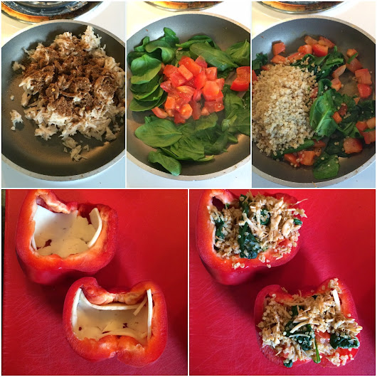 LOafers & Hot Cocoa: Mexican Stuffed Bell Peppers