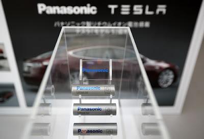 Panasonic maior fabricante de baterias de íons de lítio do mundo