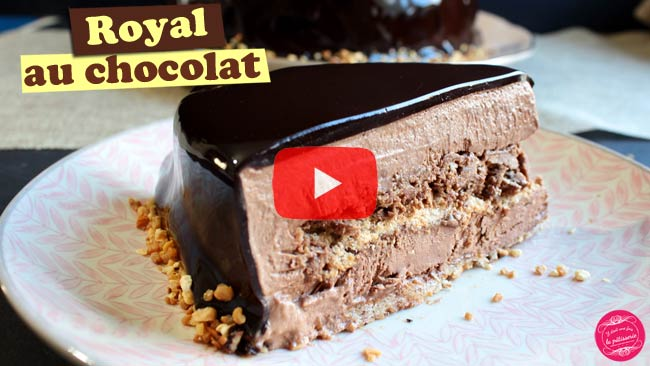 recette royal chocolat vidéo