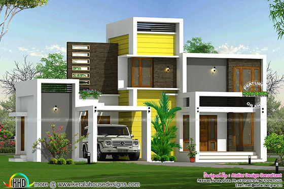 16 lakhs house plan architecture | Kerala home design | Bloglovin'