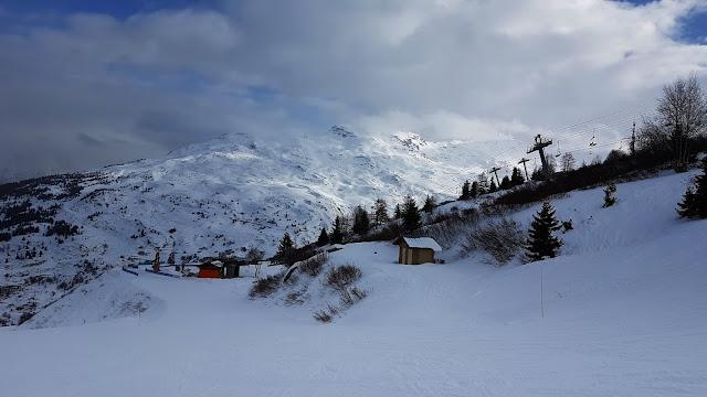 Ilość ludzi we Francji na nartach :-D
