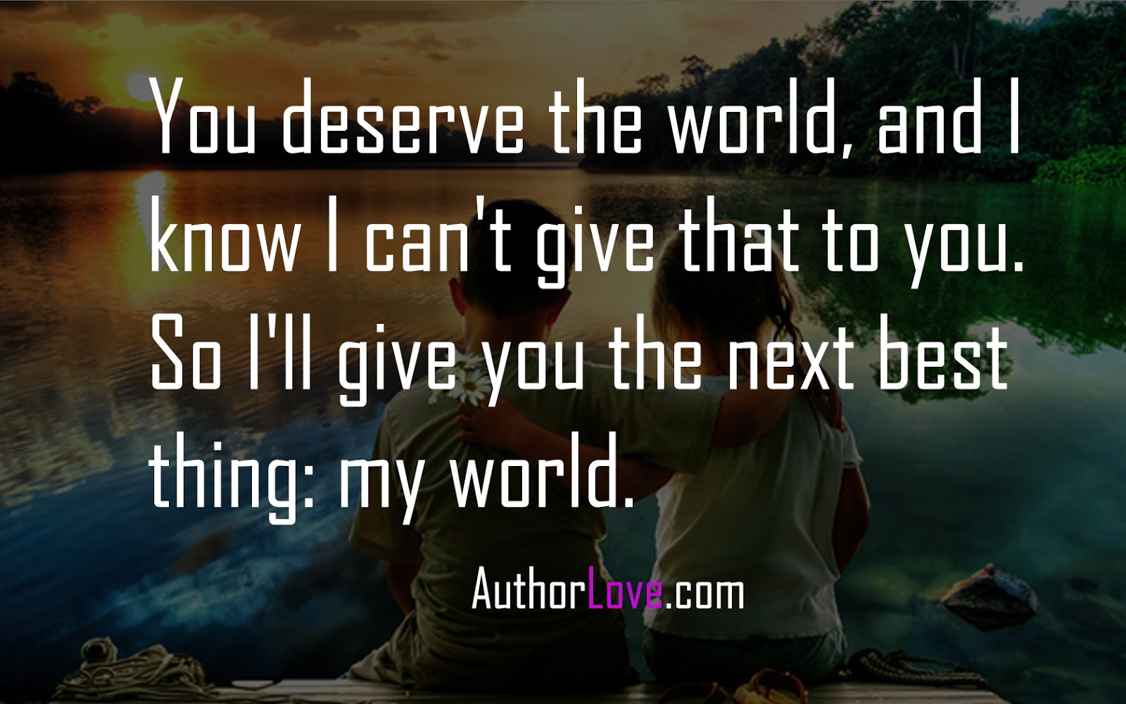 What do you have to offer the world?