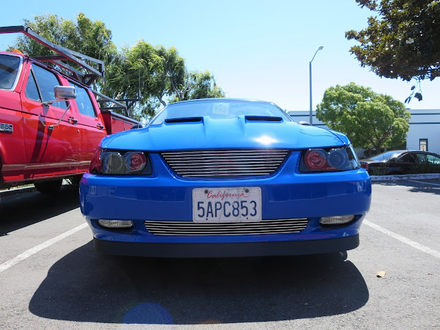 Mustang with overall paint job and customization from Almost Everything Auto Body