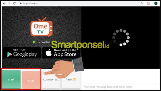 Cara Menggunakan Omegle Ome TV di Laptop atau PC Komputer