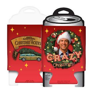 Christmas beer koozie