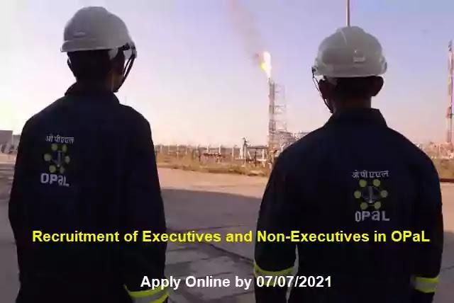 OPaL Executive Non-Executive Vacancy Recruitment 2021