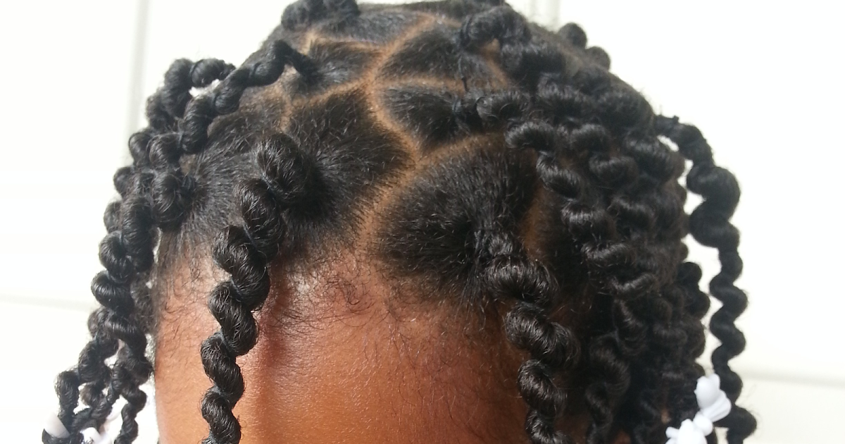 Beautifully Curled: First Attempt: African Hair Threading ...