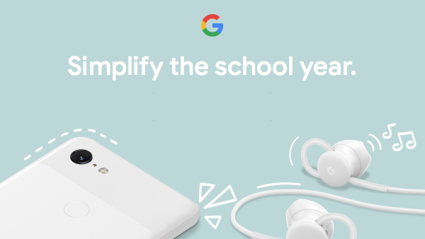 Google Store Back to School deals include $300 off the Pixel 3, 41% off the Home Mini