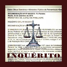 MPPE INSTAURA INQUÉRITO PARA CONCURSO DE PANELAS