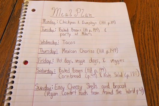Meal Plan Update