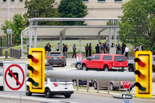 Il Pentagono è in isolamento dopo una sparatoria