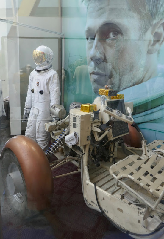 Ad Astra spacesuit and buggy