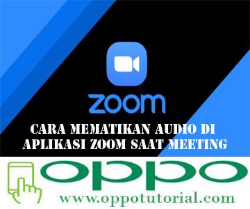 Cara Mematikan Audio di Aplikasi Zoom Saat Meeting