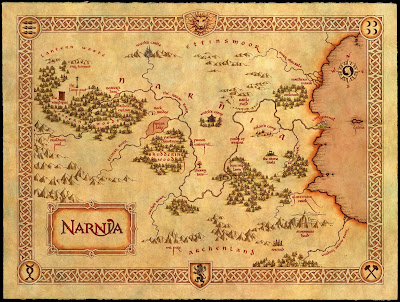 """La geografia de narnia-por samuelmat"" by Samuelmat - Own work. Licensed under CC BY-SA 3.0 via Wikimedia Commons"