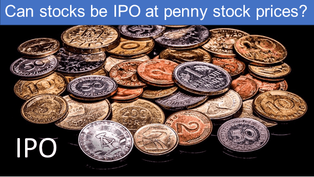 Can stocks be issued at penny stock prices?