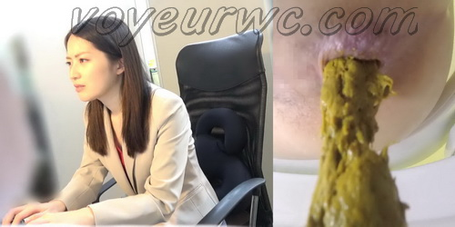 [SL-248] Office girls went to take a shit in the toilet