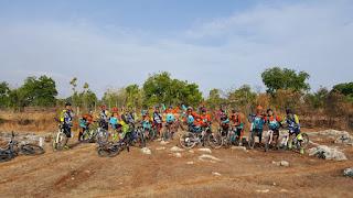 komunitas sepeda di Tuban