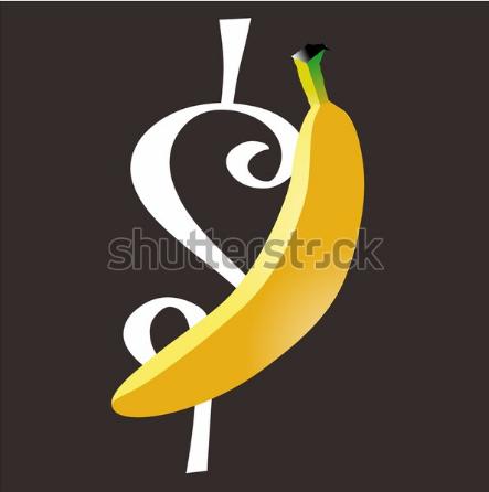 illustration design bananna