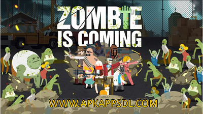 Download Zombie is coming Apk Mod v1.1 Full Version 2017