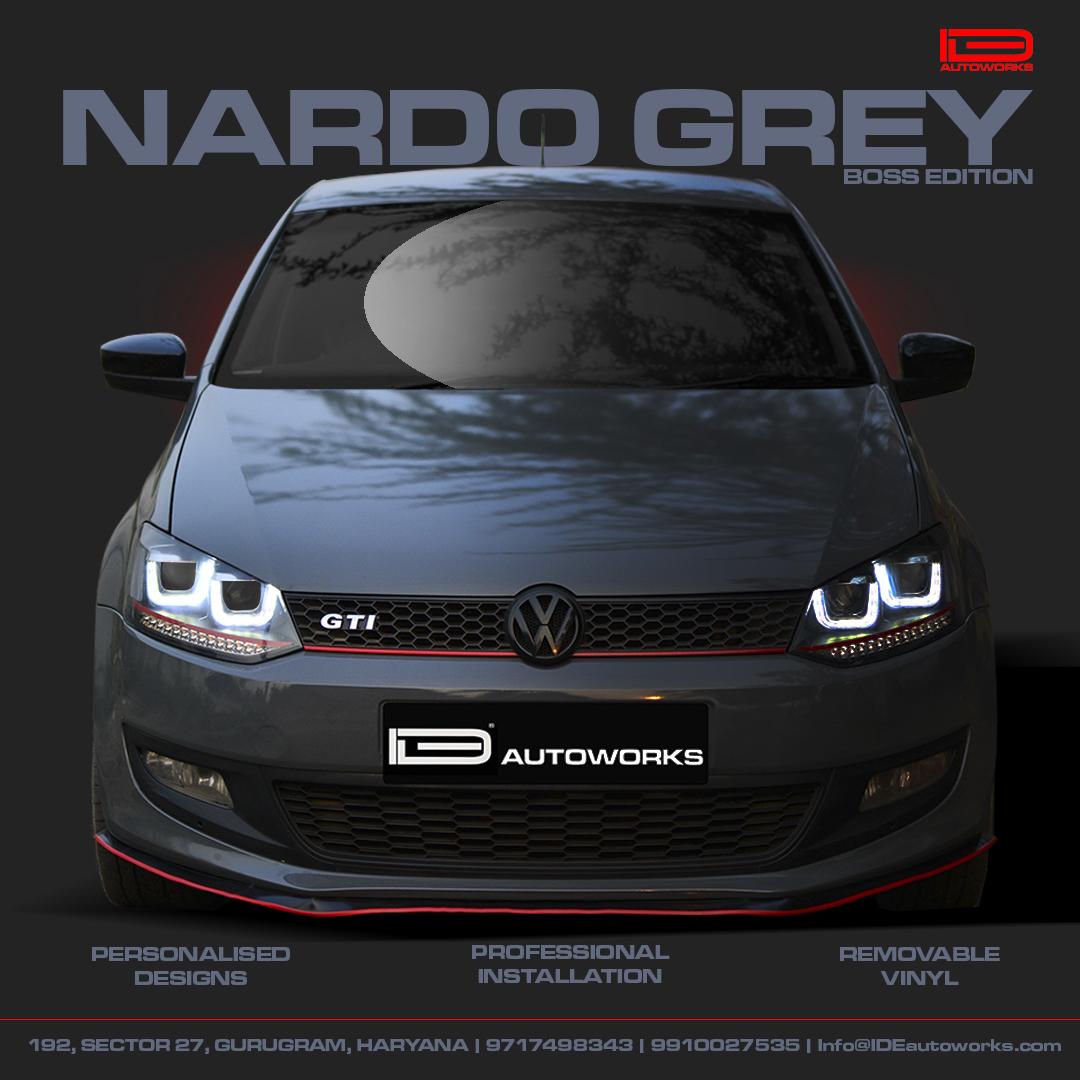 Nardo Grey Wrap | IDE Autoworks