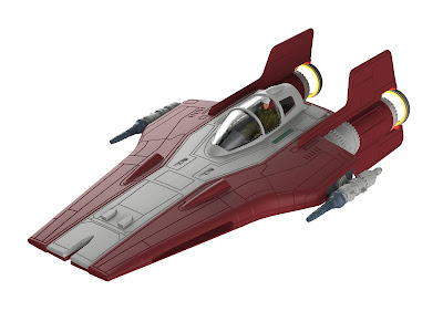 Resistance A-wing Fighter picture 4