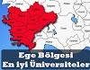 Ege Bölgesinde Bulunan En İyi Üniversiteler