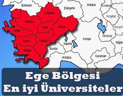 ege bölgesi en iyi üniversiteler