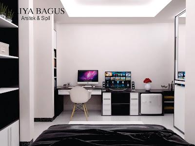 Desain Interior Kamar Kos Jakarta Kamar S view 2