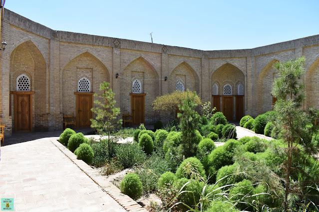Alojamiento en Khiva, Uzbekistán