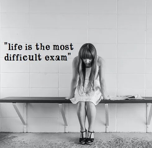 life is most difficult exam DP for girls