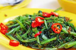 Resep Masakan Kangkung Asam Jawa, Hidangan Spesial Untuk Sahur Dan Berbuka Puasa