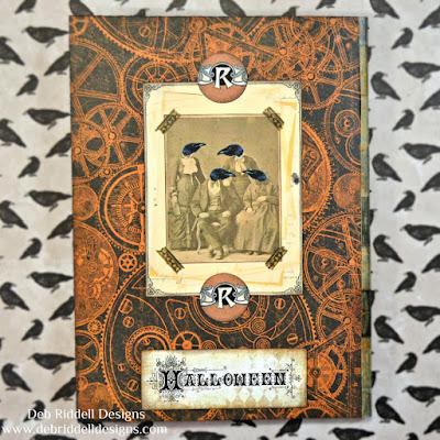 Halloween Folio Back Cover
