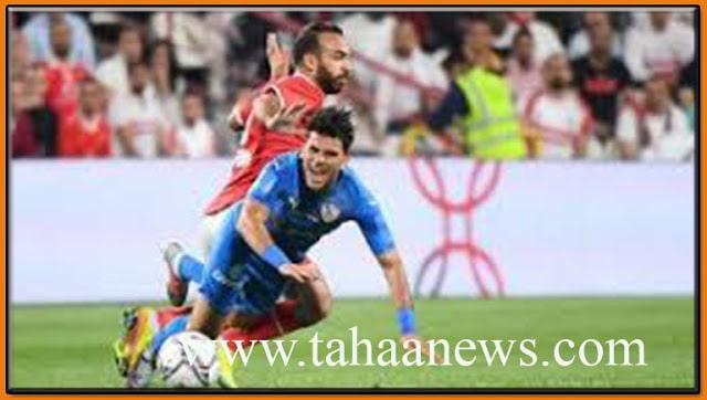 بالفيديو سيول تغرق استاد القاهرة قبل مباراة الأهلي والزمالك