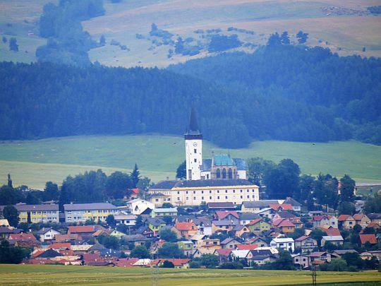 Kościół św. Władysława i kaplica rodu Zapolya.