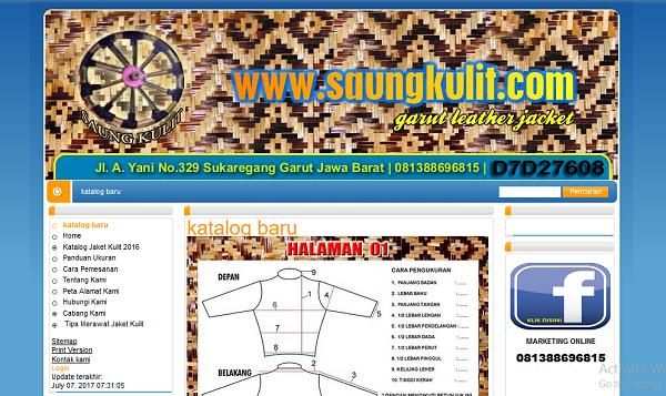 Website Pengusaha Jaket Kulit