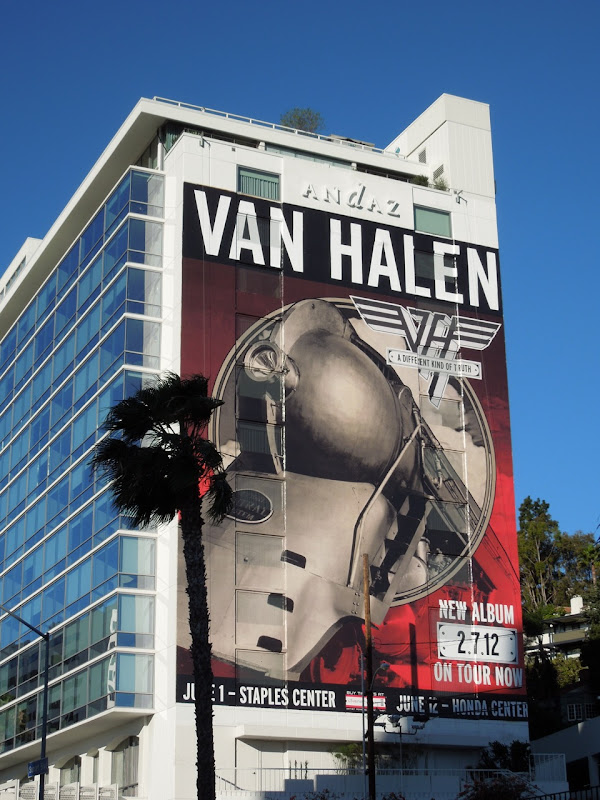 Giant Van Halen 2012 album billboard