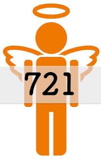 エンジェルナンバー 721