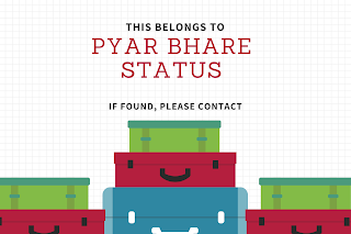 Pyar Bhare Status in hindi