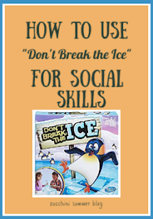 don't break the ice, social skills games, special education social skills, autism, turn taking, identifying emotions games