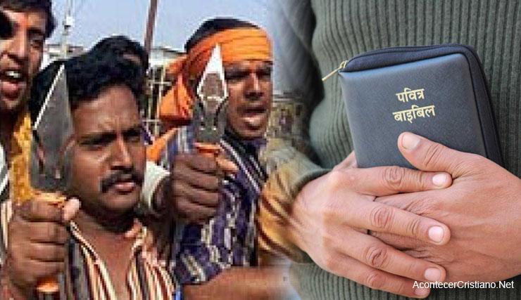 Hinduístas radicales golpean pastor