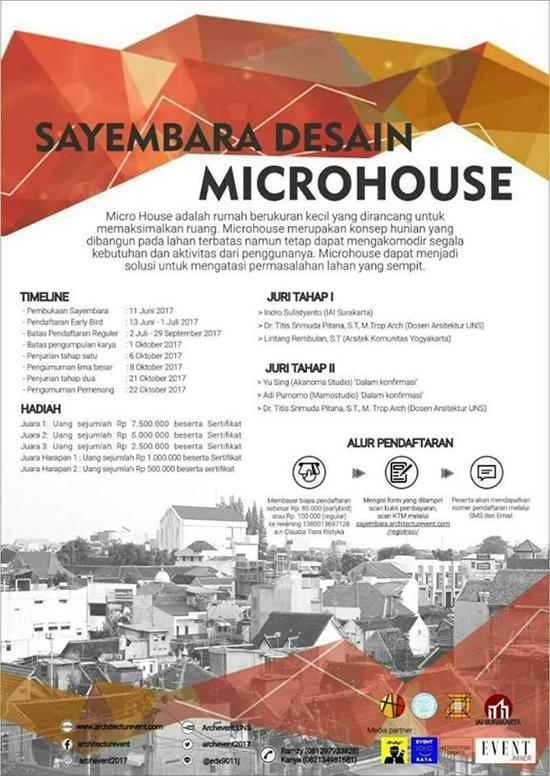 Sayembara Desain Microhouse Archevent UNS