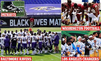 """Depois que a política e a """"justiça social"""" terminaram, um jogo de futebol começou 2"""