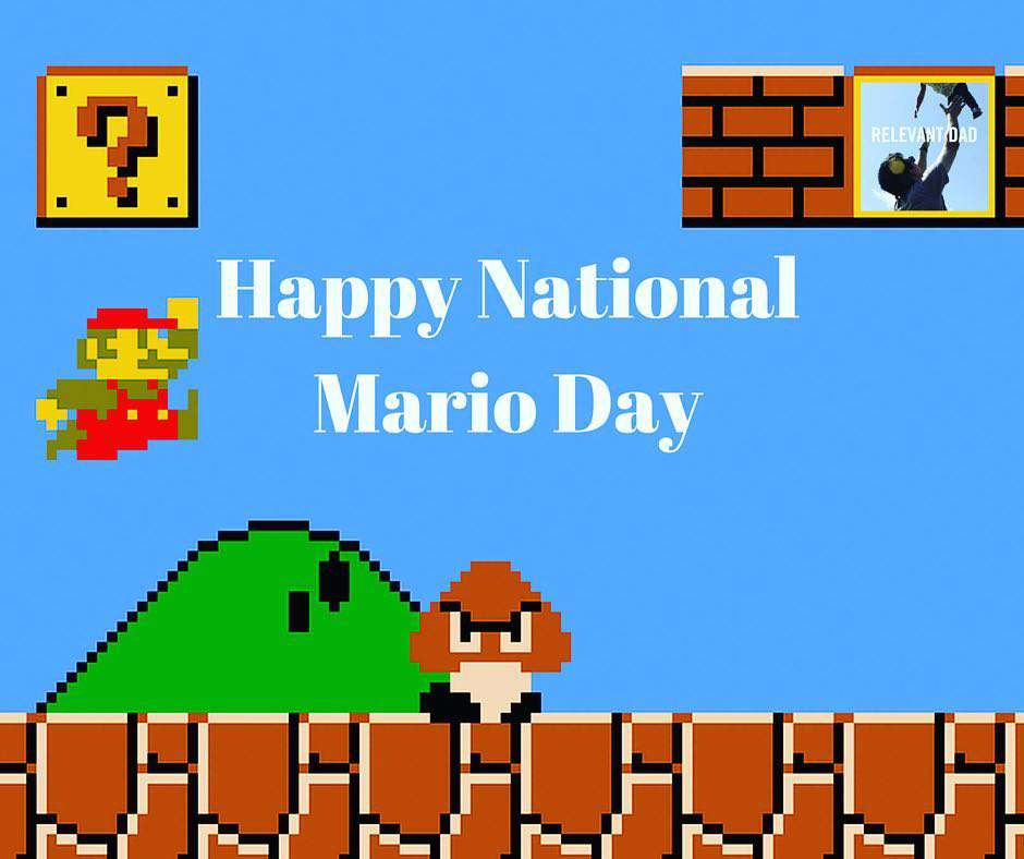 Mario Day Wishes Sweet Images