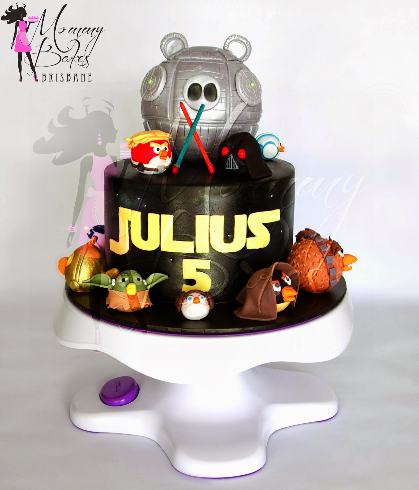 Mommybakes Brisbane Angry Birds Star Wars Cake