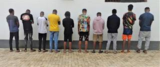EFCC Arrests 16 Internet Fraud Suspects At Enugu Hotel