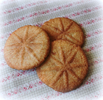 Cut Glass Cinnamon Crisps