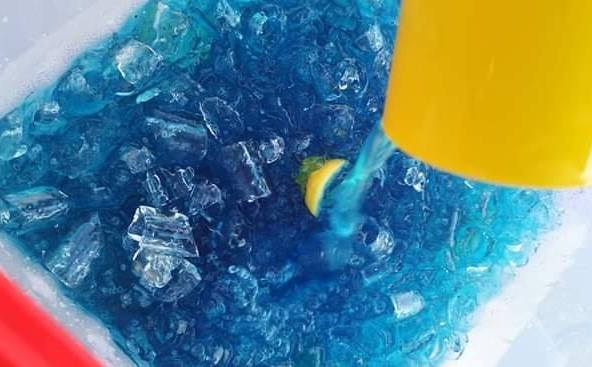 Resepi Air Blue Ocean / Ombak Rindu Mudah dan Sedap