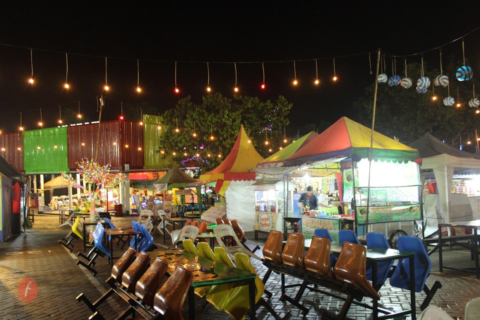 Pasar Parkiran Kota Batu Jawa Timur